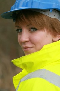 Female building surveyor
