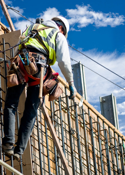 Working safely on a construction project