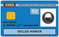 CSCS Blue Skilled Worker Card