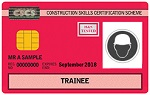 Red Trainee Technician Card